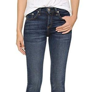 Rag & Bone High Rise Skinny Jeans B16